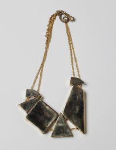 great geometric necklace
