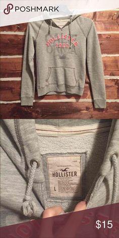 Hollister hoodie Hollister hoodie RUNS SMALL. Fits like a medium Hollister Jackets & Coats
