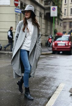 Accept No Imitations: tommy ton, the street-style don, captures the most original looks at the fall 2014 shows