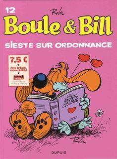 Boule & Bill Tome 12 - Sieste Sur Ordonnance - Jean Roba