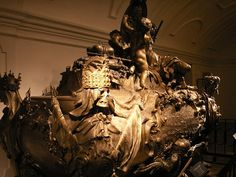 The tomb of Emperor Charles VI in the Crypt of the Capuchins, Vienna