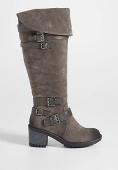 Shelly multi buckle boot with fold over top | maurices On my wish list #wishpinwinsweepstakes #discovermaurices.