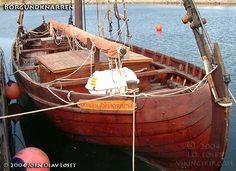 """Borgundknarren vikingskip - """"Borgundknarren"""" replica of the Skuldelev wreck 1 viking knarr"""