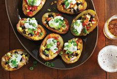 15 Clean Eating Father's Day Recipes (1. Southwestern Potato Skins, 2. Toasted Ravioli w/ Marinara, 3. Chipotle Cheddar Sweet Potato Muffins, 4. Stuffed Acorn Squash w/ Turkey Sausage, 5. Spicy Scalloped Sweet Potatoes, 6. Big Stack Burger, 7. Spicy Chicken Wings w/ Blue Cheese Dip, 8. Southwestern Cheddar Steak Fries, 9. Baked Ziti w/ Creamy Kale & Sausage, 10. Turkey Pot Pie w/ Pumpkin Crust, 11. Crockpot Roast Beef & Leek Sammies, 12. Oven-Baked Crispy Chicken, etc.)