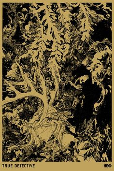 True Detective by Vania Zouravliov #true #detective #truedetective #illustration #hbo