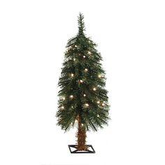 53e14fec14eb2 Enchanted Forest® 3  Prelit Alpine Artificial Christmas Tree  15