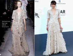 Milla Jovovich In Valentino Couture - amfAR Cinema Against AIDS Gala
