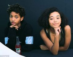 Inspiration: The actress paid tribute to her close friend Willow Smith, naming her as one ...