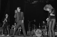 The Cramps performing in concert Popular Bands, The Cramps, Weak In The Knees, Rock Artists, Pop Rock Bands, Gretsch, The Clash, Psychobilly, Poison Ivy