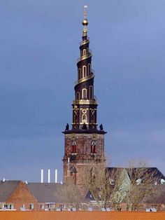 A Church In Copenhagen, Denmark