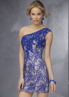 Sticks & Stones by Mori Lee 9271 Lace Short Dress
