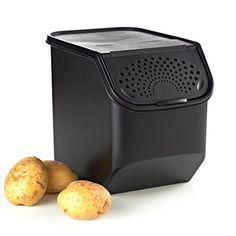 Potato Smart Container Keeps Potatoes Fresh U0026 Firm With The All New  Convenient Design, The