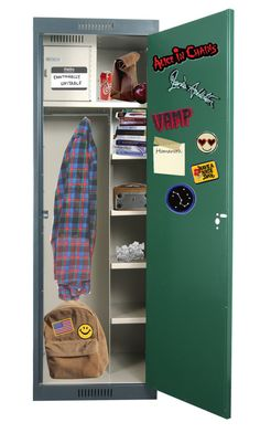 """Freshman Locker"" by shinedownsiren ❤ liked on Polyvore featuring art"