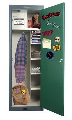 """Freshman Locker"" by shinedownsiren ❤ liked on Polyvore featuring art"