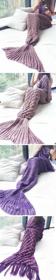 Pretty Mermaid Blanket Tail