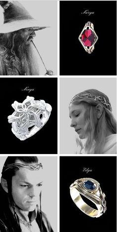 The Three Rings of the Elves and the Keepers of the Rings