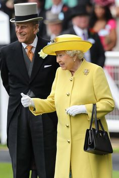 Royal Ascot - June 2016: Prince Philip, the Duke of Edinburgh with HM Queen Elizabeth II