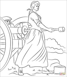 All Things John Adams: Coloring Pages: Paul Revere's Ride ...
