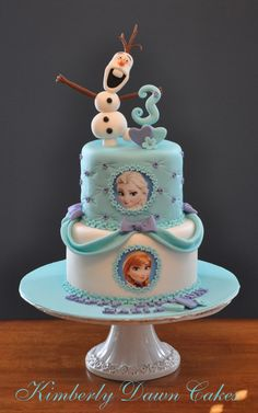 Birthday+Cakes+-+Disney+Frozen+Cake