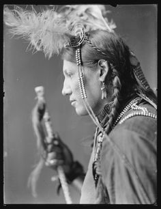 Amos Little, Sioux American Indian. Photography by Gertrude Käsebier