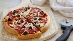 Make ahead pizza freezer