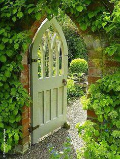 Gate to the Secret Garden!!! Bebe'!!! So pretty!!!