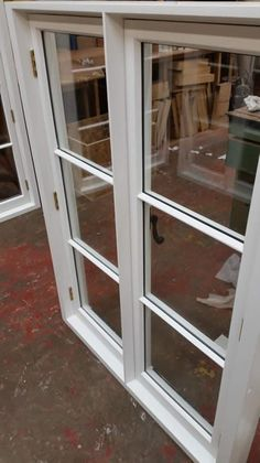Casement windows with projecting mullions. Made by Merrin Joinery in Nottinghamshire. Wooden Windows, Listed Building, Casement Windows, Joinery, Home Kitchens, Bespoke, Projects, Design, Wooden Window Boxes