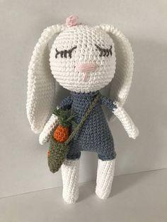 Amigurumi bunny bunny crochet baby bunny  bunny deco bunny