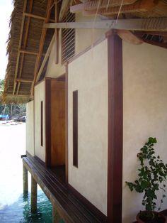 Misool Resort – C Kairouz Architects Dive Resort, West Papua, Cold Shower, Education Architecture, Archipelago, Architects, Hardwood, Villa, Stairs