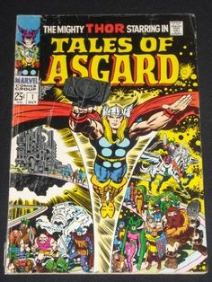 Mighty Thor Tales of Asgard #1 Silver Age Comic Book 1968 Jack Kirby, http://www.amazon.com/dp/B003U4M3UI/ref=cm_sw_r_pi_dp_Hu0Trb1ZZAD8A Classic Jack Kirby art from the Silver Age!