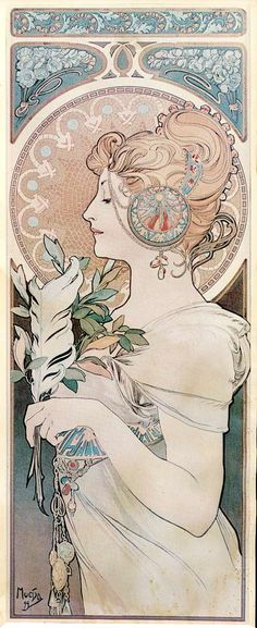 The Art of Alphonse Mucha (40 posters and art prints) - bperotto