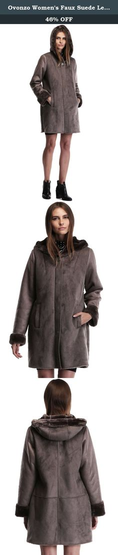 Ovonzo Women's Faux Suede Leather Zipper Snap Button Coat with Hood Size 3X. Size Chart S ----- Chest: 41 3/4 in (106m), Length: 32 11/16 in (83cm), Shoulder: 16 1/8 in (41cm), Sleeve: 24 3/8 in (62cm) M ---- Chest: 43 1/4 in (110cm), Length: 33 1/2 in (85cm), Shoulder: 16 1/2 in (42cm), Sleeve: 24 5/8 in (62.5cm) L ---- Bust: 45 5/8 in (116cm), Length: 33 1/2 in (85cm), Shoulder: 16 15/16 in (43cm), Sleeve: 24 3/4 in (63cm) XL ---- Bust: 48 in (122cm), Length: 33 7/8 in (86cm), Shoulder…