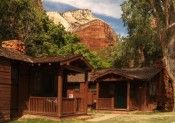 Best eco-lodges in USA: Zion Lodge in Zion National Park - Evelyn Kanter ecoXplorer National Park Lodges, Zion National Park, National Forest, Zion Park, Zion Lodge, Unusual Holidays, Forest Park, Utah