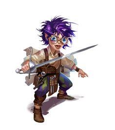 Female Gnome Wizard Rogue Glasses - Pathfinder 2E PFRPG PFSRD DND D&D 3.5 4E 5E 5th ed d20 fantasy Dungeons And Dragons 5, Dungeons And Dragons Characters, Dnd Characters, Fantasy Characters, Fantasy Races, Fantasy Map, Medieval Fantasy, Character Creation, Character Art