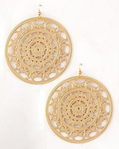Bauble of the Day - #fashion #fashionjewelry #earrings $9.99