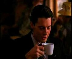 """Who didn't love """"Twin Peaks""""?  """"Every day, once a day, give yourself a present."""" - Agent Dale Cooper, Twin Peaks and his damn fine cuppa coffee and a piece of cherry pie."""