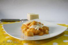 Pasta fresca con patate e provola