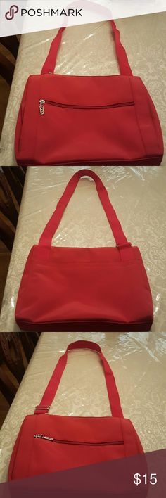 Crossbody bag Beautiful red crossbody Maxx NewYork bag, canvas, in great condition, Maxx NewYork  Bags Crossbody Bags