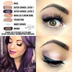 Fall Eyeshadow Looks, Eyeshadow Base, Makeup Geek, Diy Makeup, Beauty Skin, Beauty Makeup, Natural Makeup For Blondes, Hazel Green Eyes, Lip Sence