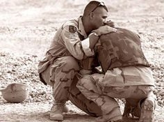 Share a hug with a battle buddy today. #PrayersFor514