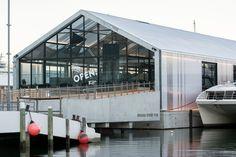 Floats on concrete, runs on water: Brooke St Pier by Circa Morris Nunn