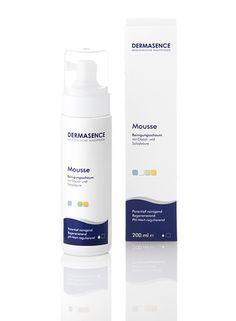 Mousse Reinigungsschaum - DERMASENCE Als Reinigungsschaum sehr zu empfehlen. Mit moderner Wirkstoffkombination von Glycol- und Salizylsäure Verfeinert das Hautbild