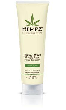 Hempz Jasmine Peach & Wild Rose Body Wash
