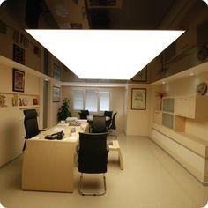 Натяжные потолки в офисе