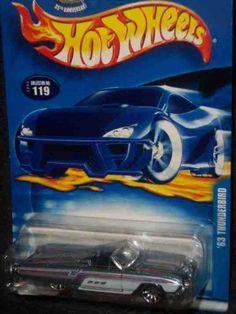 #2003-119 63 Thunderbird China Collectible Collector Car Mattel Hot Wheels $0.19