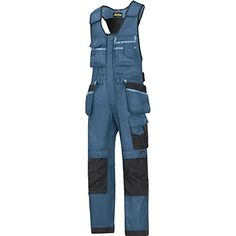 Snickers 0212 Craftsmen One-piece Holster Pocket Trousers, DuraTwill. More than industrial products available to order. Dungarees, Overalls, Snickers Workwear, Trousers, Pants, Craftsman, Work Wear, One Piece, Pocket