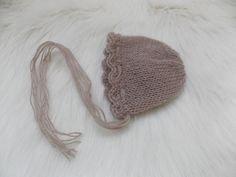 Mohair newborn Hat,mink knit bonnet,photo prop Vintage Knitted Hat,Beanie,Rustic Hat,Rustic Newborn Hat,Knit hat,Shabby hat,Ready to ship by MikyNewbornProps on Etsy Vintage Knitting, Mink, Photo Props, Knitted Hats, Winter Hats, Shabby, Beanie, Ship, Rustic