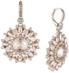 e69042062fe Marchesa Gold-Tone Crystal Drop Earrings Jewelry & Watches - Fashion Jewelry  - Macy's