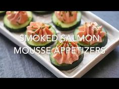 Smoked Salmon Mousse - Easy Recipe and VIDEO | Healthy Recipes