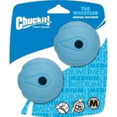 Der aus Naturkautschuk gefertigte Ball von Chuckit, besticht durch seine hohe Sprungkraft und ist das ideale Spielzeug für ausgiebige Apportierspiele. Der integrierte Pfeifer macht beim Werfen ein pfeifendes geräusch was Ihren Hund zusätzlich zum Spielen animiert.
